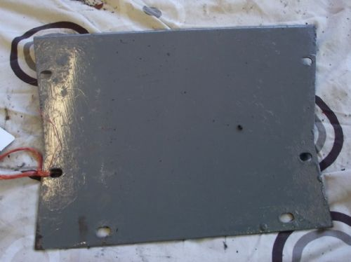 Tractor Cover / Plate